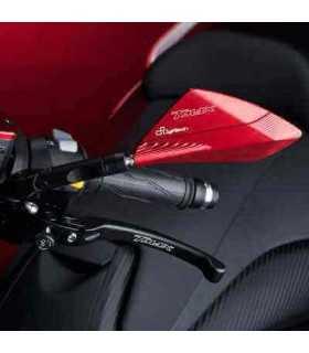 Lightech Paar Spiegel rot oder schwarz Yamaha T-max