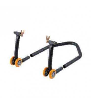 Lightech Modular Iron Rear Stand With 4 Wheelsand Forks