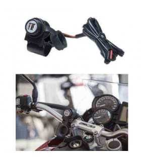 Interphone Dual Usb Port For Handlebar