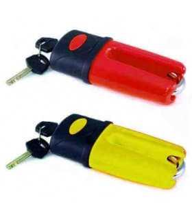 Lock disc LU-0614 - ORANGE 10mm
