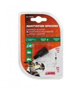 Adapter für Motorradspiegel - Gewinde 10 mm rechts - 8 mm links