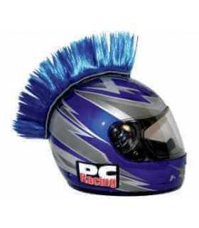 Cresta adesiva per casco blu