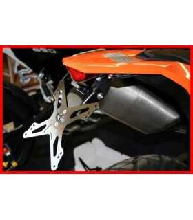 Evotech license plate KTM 690 SMC/Enduro.Approved
