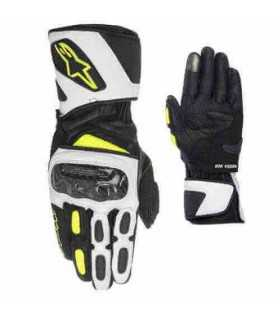 Alpinestars Sp-2 Leather Glove nero giallo bianco