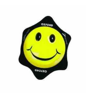 Oxford Pair Of Smiler Knee Sliders yellow