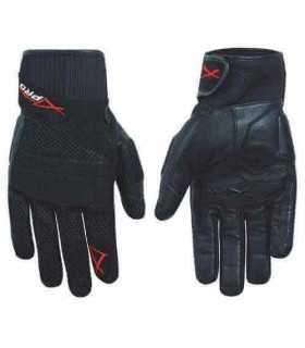 A-pro leather/textile glove Fanair