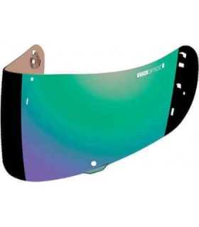 Visiera specchio verde per Icon Airframe Pro/Airmada/Airform