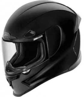 Casco moto Icon Airframe Pro nero lucido
