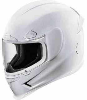Icon Airframe Pro gloss white helmet