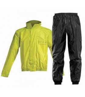 Rain suit divisible Acerbis Logo Yellow Black