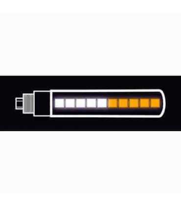 Approved Power View, multi-Led front corner lights, 12V - Black