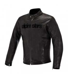 Alpinestars Black Shadow Huntsman Leather Jacket black