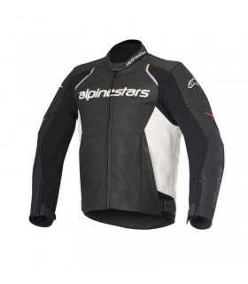 Alpinestars Devon Leather Jacket Black/white