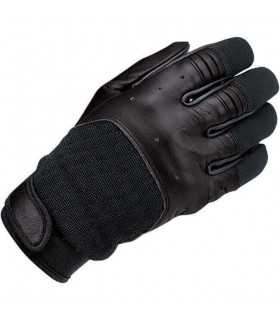 Biltwell bantam leather gloves black