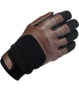 Biltwell bantam leather gloves chocolate