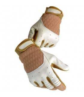 Biltwell bantam guanti in pelle tabacco