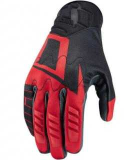 icon WIREFORM GLOVE TOUCHSCREEN rosso
