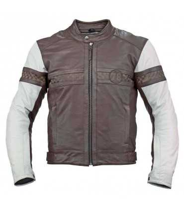 Leather jacket AXO Vintage brown