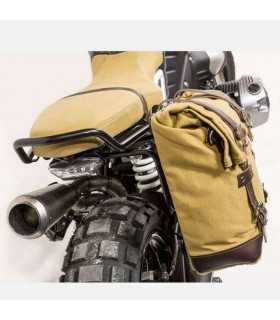 BMW - Unit Garage Borsa Laterale canvas beige/marrone + Telaio bmw R Nine-t