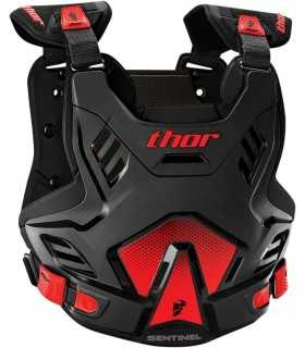 thor YOUTH SENTINEL GP BLACK/red