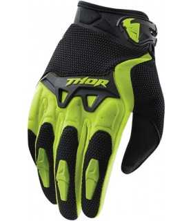 Guanti cross Thor Spectrum verde