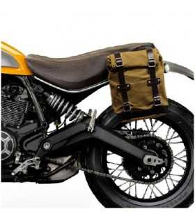 Unit Garage Borsa laterale + telaio Ducati Scrambler beige/marrone SBK_13650 UNIT GARAGE DUCATI