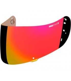 Icon Alliance visor iridium rouge