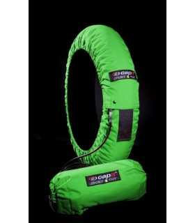 CAPIT TIRE WARMERS MOTO SUPREMA SPINA M/XL  green