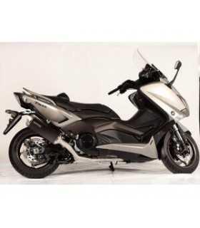 spark scarico completo yamaha t-max 530 nero satinato SBK_14037 SPARK EXHAUST SCARICHI MOTO E SCOOTER