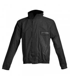 Acerbis Logo teilbar regen Anzug schwarz