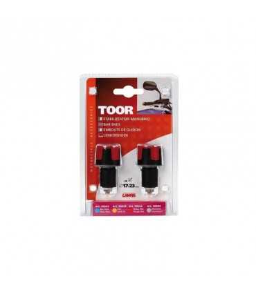 Lampa Toor, bar ends red