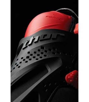 Ginocchiere Thor FORCE XP KNEE GUARD ROSSO