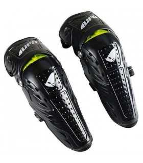 Ufo Jointed Knee Shin Guards Black