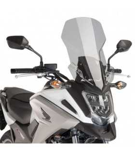 Puig Touring Windscreen Honda Nc750x 2016 Light Tint