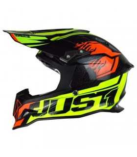 Just-1 J12 Dominator Neon Lime Red