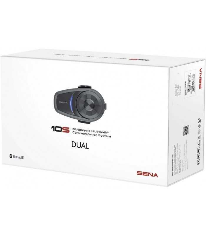 Sena 10S Bluetooth doppio SBK_17161 SENA INTERFONO / COMUNICAZIONE