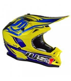 Just-1 J32 Pro Rave Blu Giallo SBK_17509 JUST1 CASCHI MOTOCROSS ENDURO
