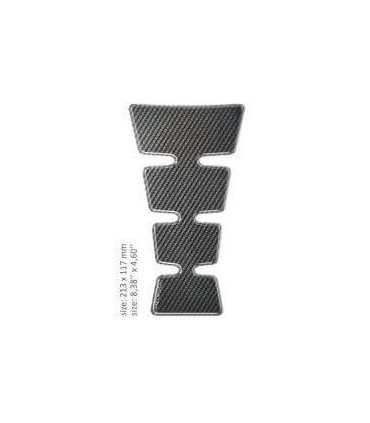 ONEDESIGN UNIVERSAL TANK PAD - GLOSS GRAY - CARBON DESIGN
