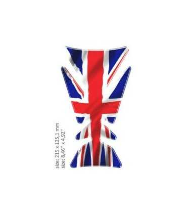 ONEDESIGN UNIVERSAL TANK PAD - GLOSS UK FLAG
