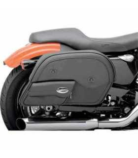 BORSE PER CUSTOM - SADDLEMEN Express Cruis'n Slant Face Pouch Saddlebags, LARGE