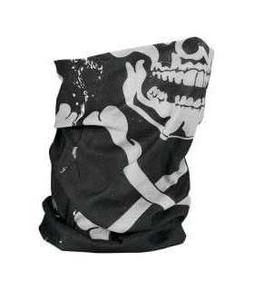ZAN SKULL XBONES MOTLEY TUBE™ FLEECE LINED ONE SIZE