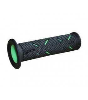 PROGRIP 717 DOUBLE DENSITY ROAD GRIPS BLACK/GREEN