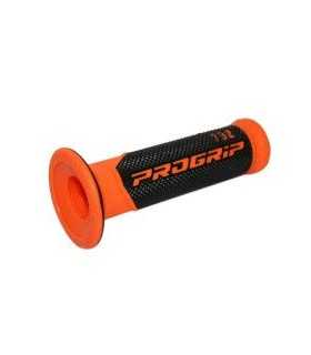 PROGRIP 732 DOUBLE DENSITY ROAD GRIPS NERO/FLUO ARANCIONE