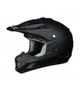 HELMET KID AFX FX-17 BLACK MATT