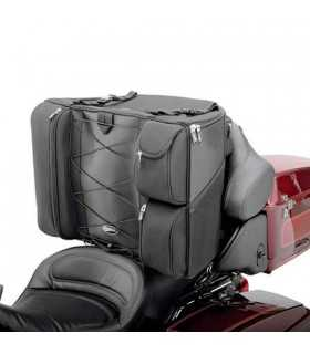 BORSE PER CUSTOM - SADDLEMEN DRESSER BACK SEAT BAG TEXTILE