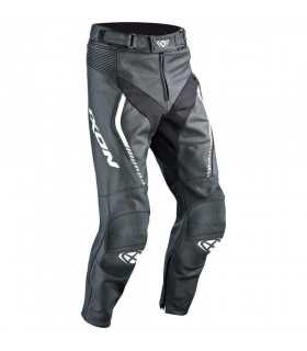PANTALONI IN PELLE UOMO - Ixon Pantalone In Pelle Fighter Nero