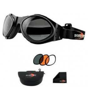 BOBSTER BUG EYE 2 OCCHIALS WITH INTERCHANGEABLE LENSES