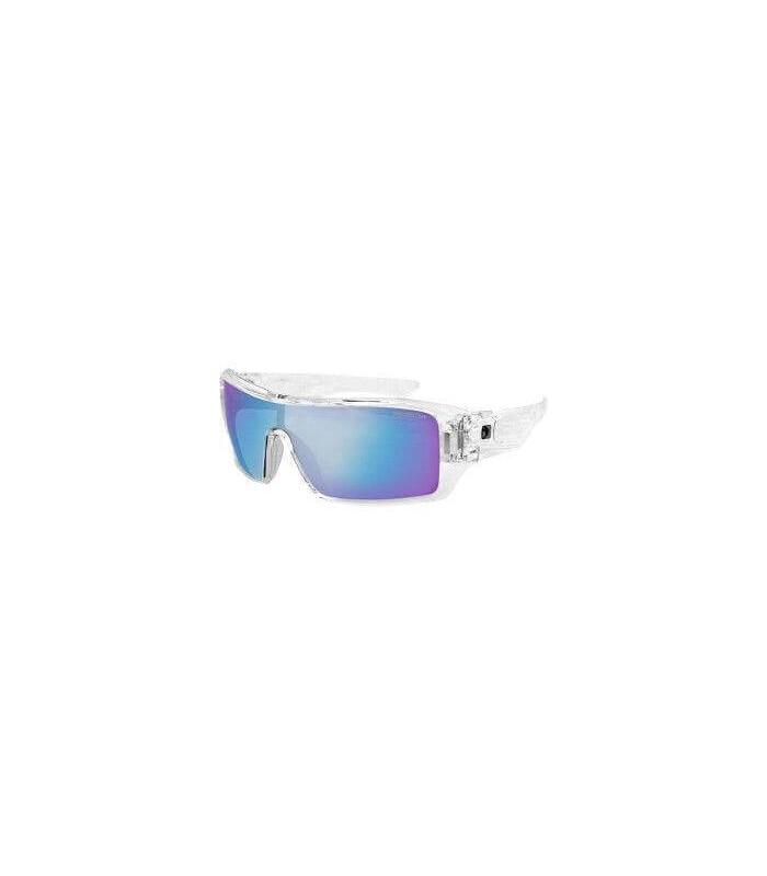 Bobster occhiali da sole paragon trasparente blu a - Occhiali specchio blu ...