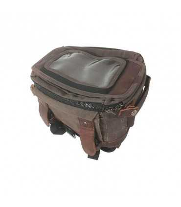 Burly magnetic Tank/Tail Bag wax cotton