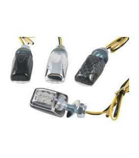 PAIRS LED CLEAR - LENS TURN SIGNAL APPROVED